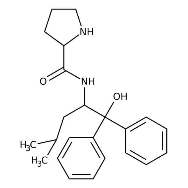 (2S)-N-[(1S)-1-(Hydroxydiphenylmethyl)-3-methylbutyl]-2-pyrrolidinecarboxamide 98.0+%, TCI America™