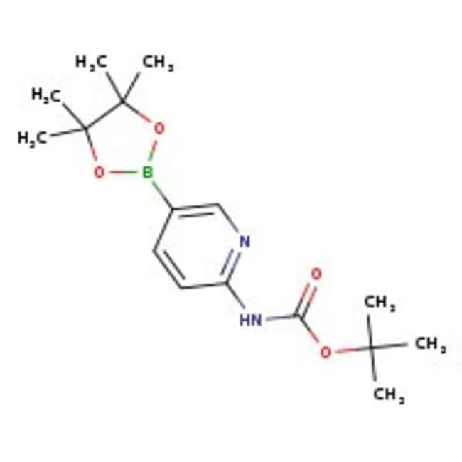 6-(tert-Butoxycarbonylamino)pyridine-3-boronic acid pinacol ester, 97%, ACROS Organics™
