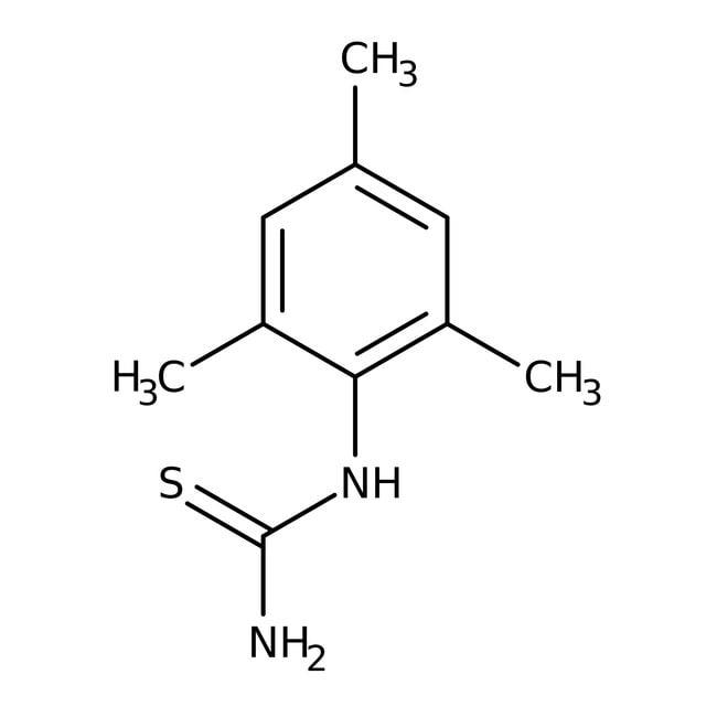 Alfa Aesar™N-(2,4,6-Trimethylphenyl)thiourea, 99% 100g Alfa Aesar™N-(2,4,6-Trimethylphenyl)thiourea, 99%