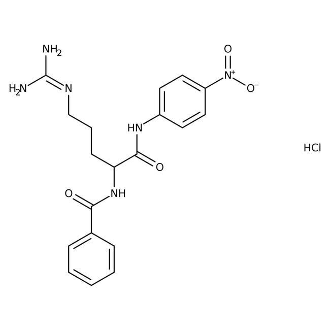 N-α-Benzoyl-DL-arginine-4-nitroanilide hydrochloride, 98%, ACROS Organics™