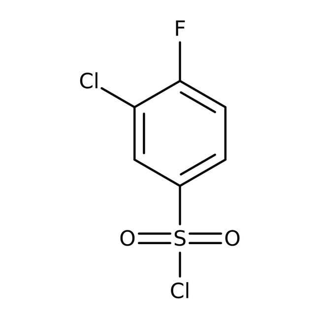 Alfa Aesar™3-Chloro-4-fluorobenzenesulfonyl chloride, 98% 100g prodotti trovati