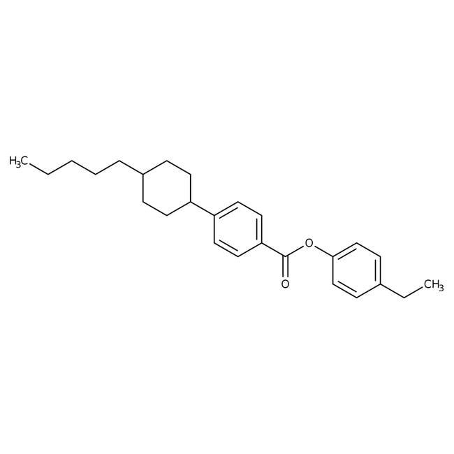 Alfa Aesar™4-Ethylphenyl trans-4-(4-n-pentylcyclohexyl)benzoate, 99% 1g Alfa Aesar™4-Ethylphenyl trans-4-(4-n-pentylcyclohexyl)benzoate, 99%