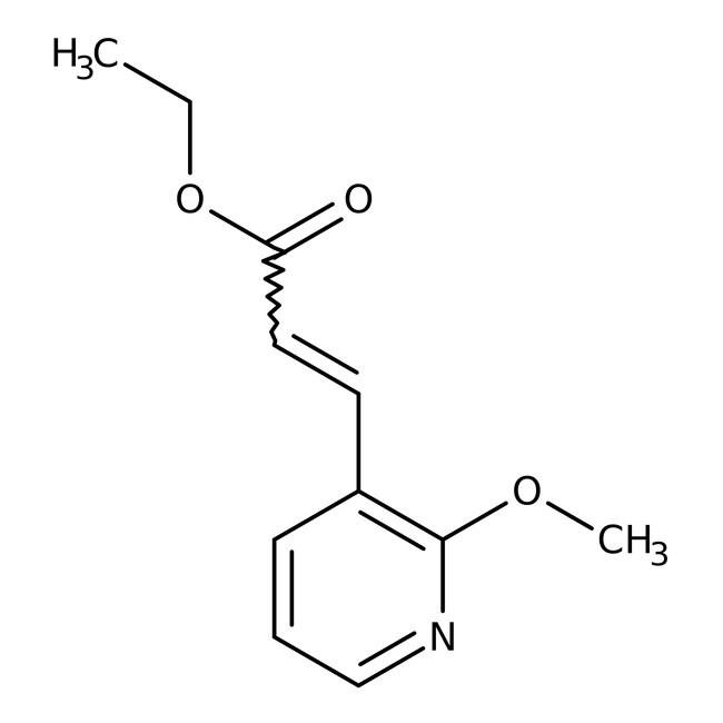 Alfa Aesar™3-(2-Metoxi-3-piridil)acrilato de etilo 5g Alfa Aesar™3-(2-Metoxi-3-piridil)acrilato de etilo