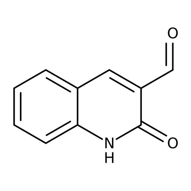 Alfa Aesar™2(1H)-Quinolinone-3-carboxaldehyde, 97%: Quinolones and derivatives Quinolines and derivatives