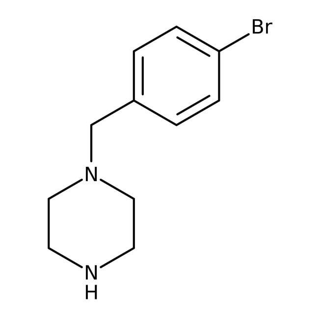 Alfa Aesar™1-(4-Bromobenzyl)piperazine, 97% 5g Alfa Aesar™1-(4-Bromobenzyl)piperazine, 97%