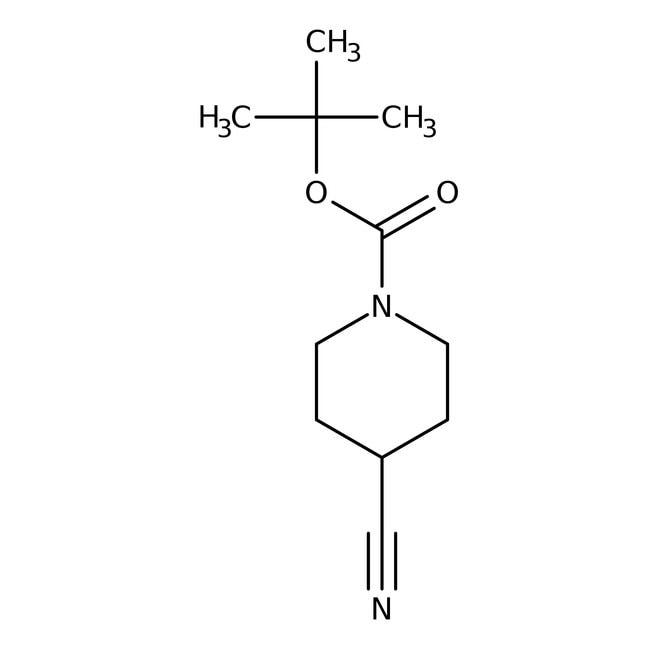 N-BOC-Piperidine-4-carbonitrile, 97%, ACROS Organics™