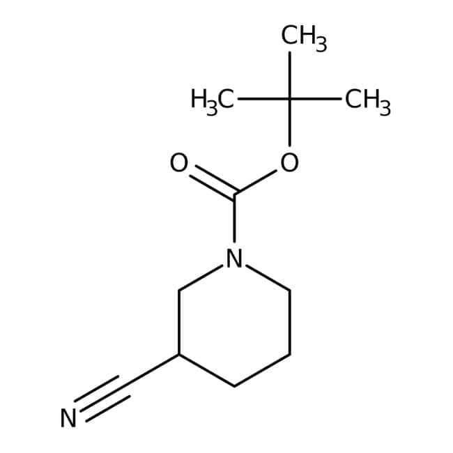 1-tert-Butoxycarbonyl-3-cyanopiperidine 98.0+%, TCI America™
