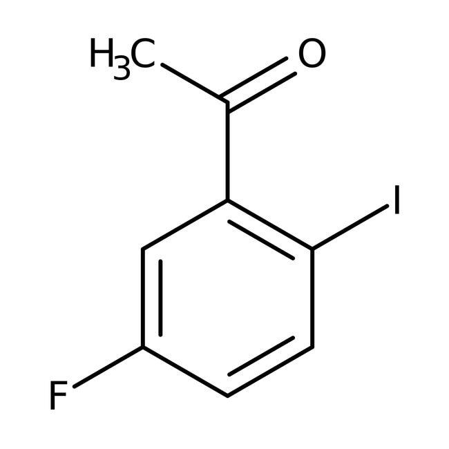 Alfa Aesar™5'-Fluoro-2'-iodoacetophenone, 97% 250mg Alfa Aesar™5'-Fluoro-2'-iodoacetophenone, 97%