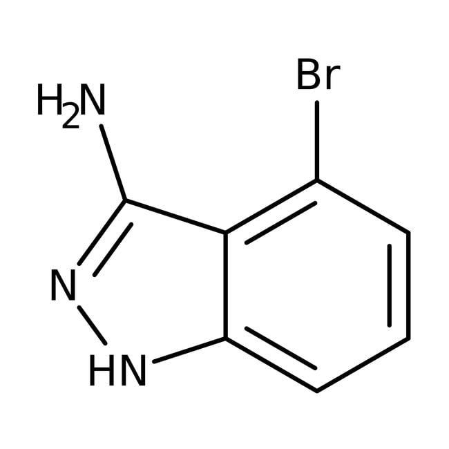 Alfa Aesar™3-Amino-4-bromo-1H-indazole, 97% 1g Alfa Aesar™3-Amino-4-bromo-1H-indazole, 97%