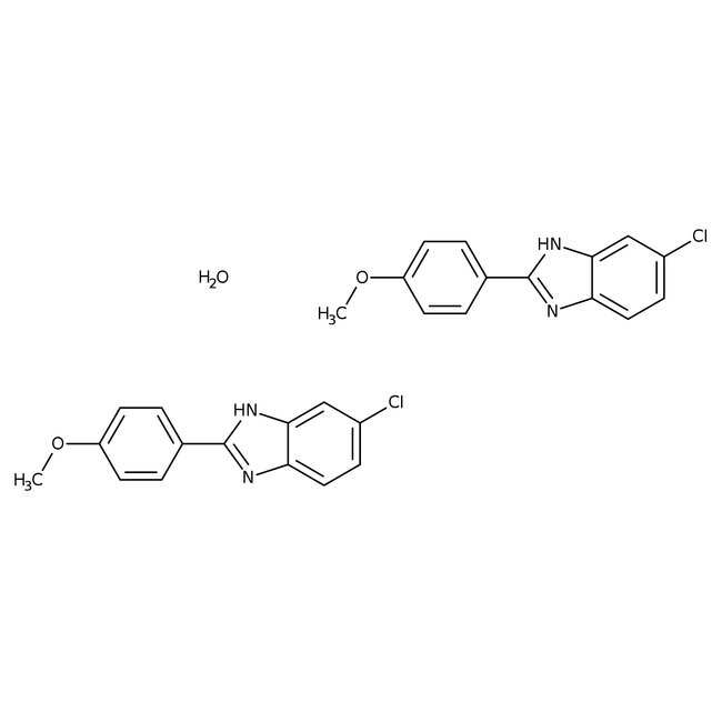 Alfa Aesar™5-Chloro-2-(4-methoxyphenyl)benzimidazole, 95% 5g Alfa Aesar™5-Chloro-2-(4-methoxyphenyl)benzimidazole, 95%
