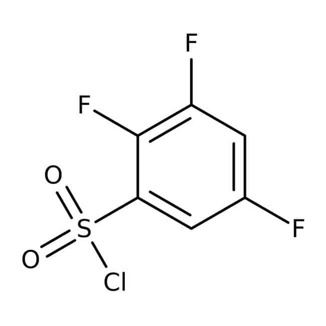 Alfa Aesar™2,3,5-Trifluorbenzolsulfonylchlorid, 97% 1g Alfa Aesar™2,3,5-Trifluorbenzolsulfonylchlorid, 97%