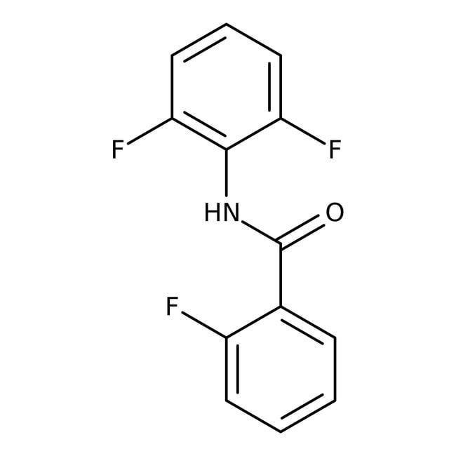 Alfa Aesar™2-Fluoro-N-(2,6-difluorophenyl)benzamide, 97% 250mg Alfa Aesar™2-Fluoro-N-(2,6-difluorophenyl)benzamide, 97%