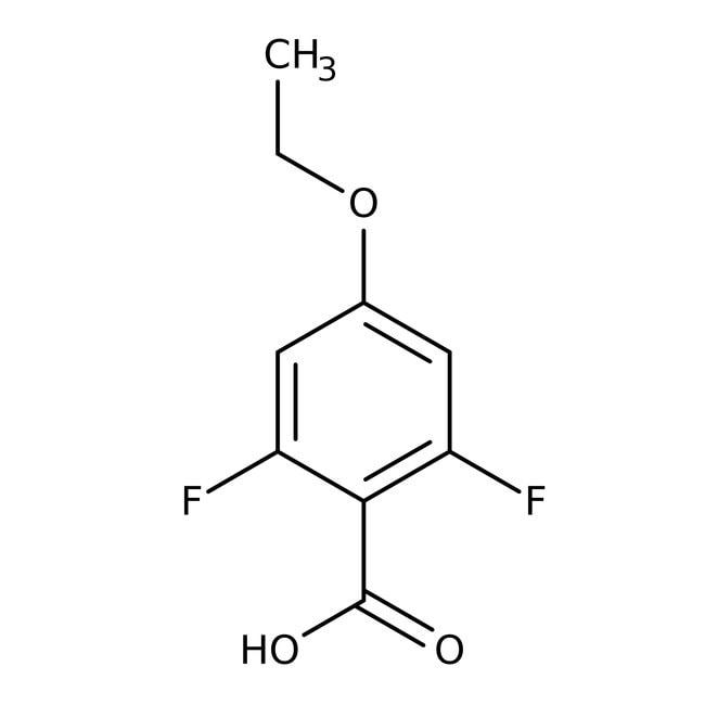 Alfa Aesar™4-Ethoxy-2,6-difluorobenzoic acid, 97% 1g prodotti trovati