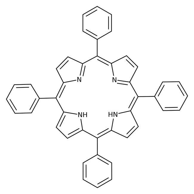 Meso Tetraphenylporphin 97 Acros Organics 25g Glass