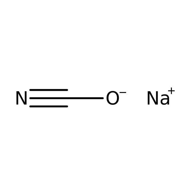 Sodium cyanate, 85%, pure, ACROS Organics