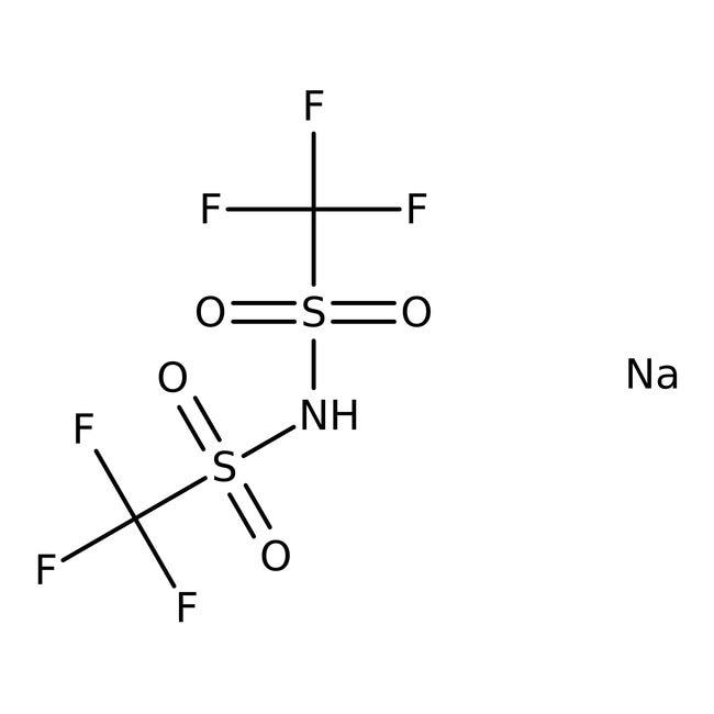Alfa Aesar™Sodium bis(trifluoromethylsulfonyl)imide 5g Alfa Aesar™Sodium bis(trifluoromethylsulfonyl)imide