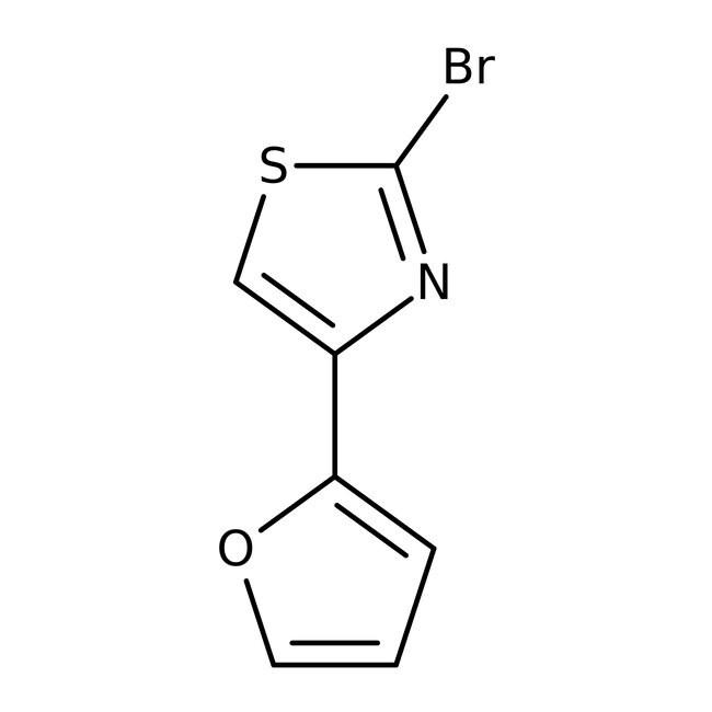 Alfa Aesar™2-Brom-4-(2-furyl)-thiazol, 97% 5g Alfa Aesar™2-Brom-4-(2-furyl)-thiazol, 97%