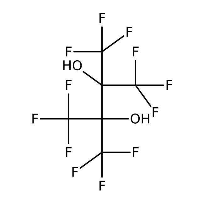 Hexafluoro-2,3-bis(trifluoromethyl)-2,3-butanediol 98.0+%, TCI America™
