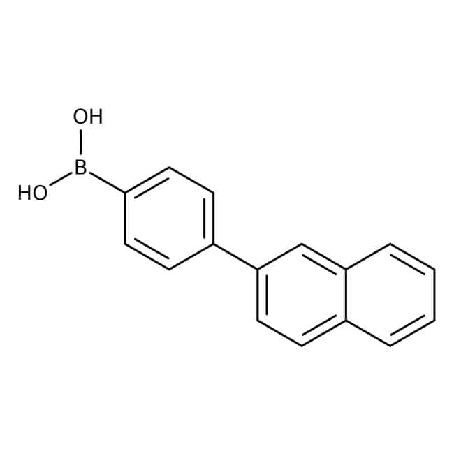4-(2-Naphthyl)phenylboronic Acid (contains varying amounts of Anhydride), TCI America™