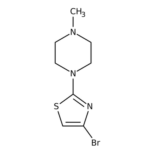 1-(4-bromo-1,3-thiazol-2-yl)-4-methylpiperazine, 97%, Maybridge