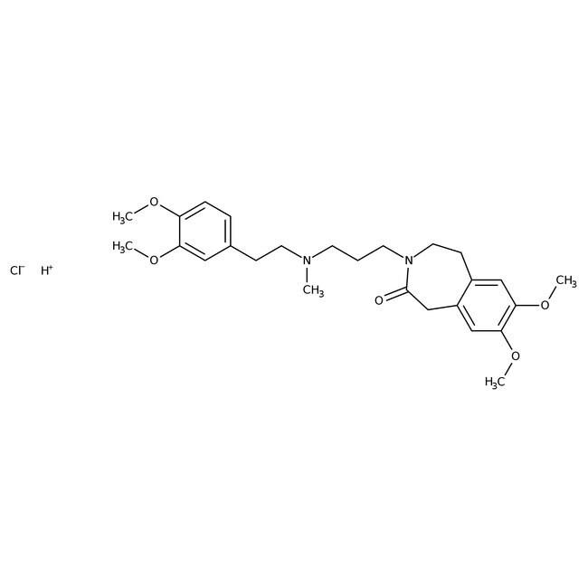 Zatebradine hydrochloride, Tocris Bioscience™ 10mg Zatebradine hydrochloride, Tocris Bioscience™