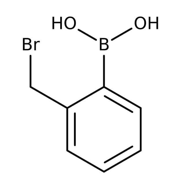 Alfa Aesar™ 2-(Bromomethyl)benzeneboronic acid, 97% 250mg Alfa Aesar™ 2-(Bromomethyl)benzeneboronic acid, 97%