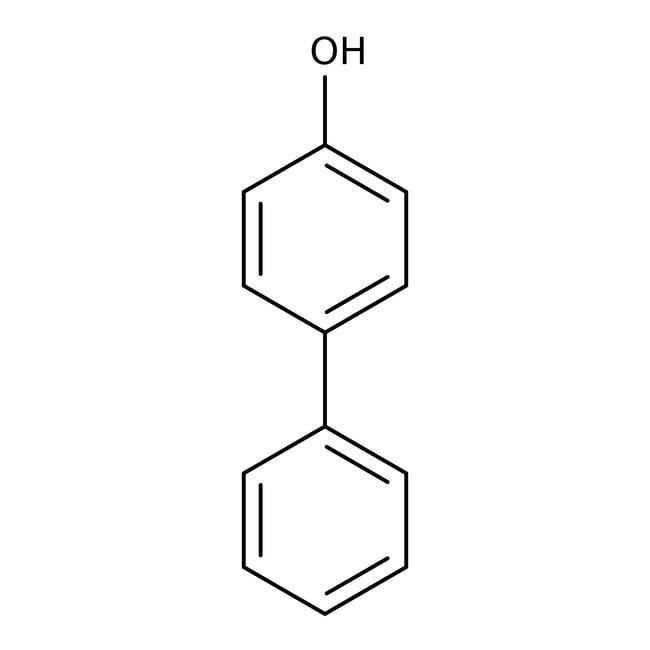 4-Phenylphenol 97%, ACROS Organics™ 250g; Kunststoffflasche 4-Phenylphenol 97%, ACROS Organics™