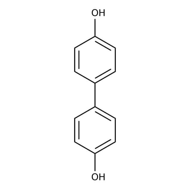 4,4'-Biphenol, 97%, ACROS Organics™ 250g; Plastic bottle 4,4'-Biphenol, 97%, ACROS Organics™