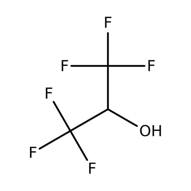 1,1,1,3,3,3-Hexafluoro-2-propanol, 99%, for analysis, ACROS Organics™ 10mL 1,1,1,3,3,3-Hexafluoro-2-propanol, 99%, for analysis, ACROS Organics™