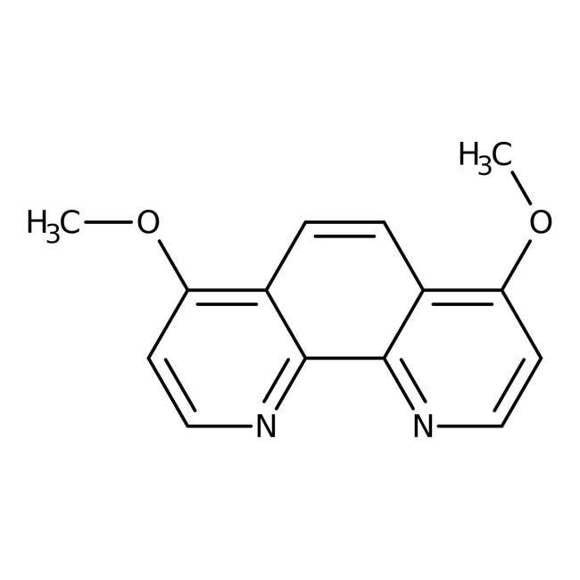 4,7-Dimethoxy-1,10-phenanthroline, 97%, ACROS Organics™ 1g; Glass bottle 4,7-Dimethoxy-1,10-phenanthroline, 97%, ACROS Organics™