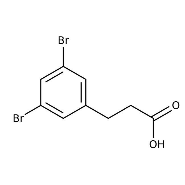 Alfa Aesar™3-(3,5-Dibromophenyl)propionic acid, 97%