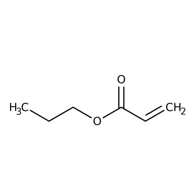 Alfa Aesar™n-Propyl acrylate, 95%, stab. with 0.1% 4-methoxyphenol 10g Alfa Aesar™n-Propyl acrylate, 95%, stab. with 0.1% 4-methoxyphenol
