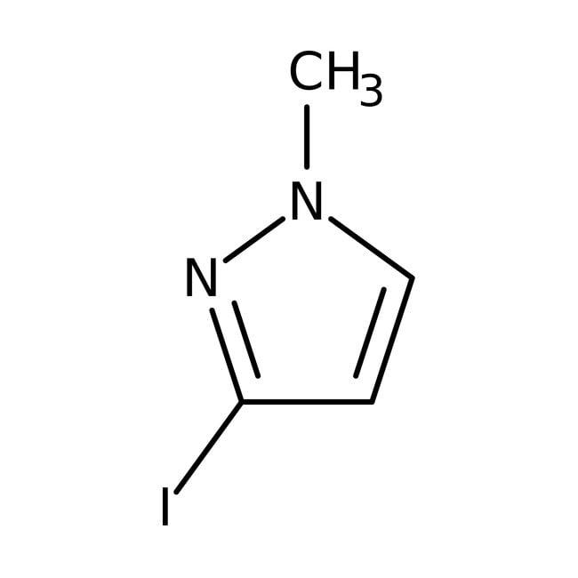 Alfa Aesar™3-Iodo-1-methyl-1H-pyrazole, 97%