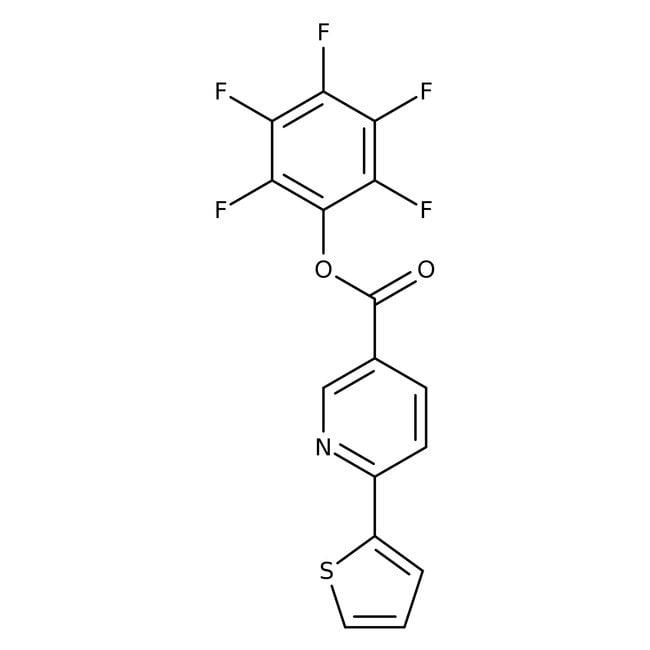 Pentafluorphenyl 6-thien-2-ylnicotinat, 97%, Maybridge: Benzenoids Organische Verbindungen
