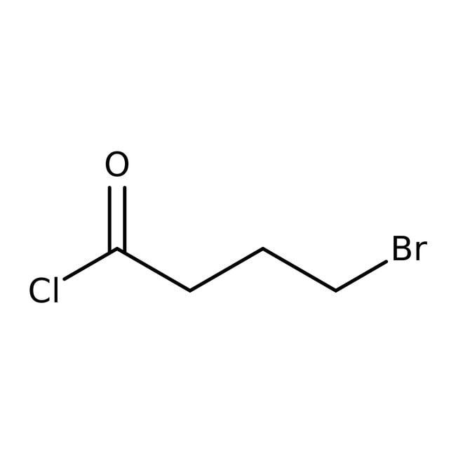 Alfa Aesar™4-Bromobutyryl chloride, 97% 100g Alfa Aesar™4-Bromobutyryl chloride, 97%
