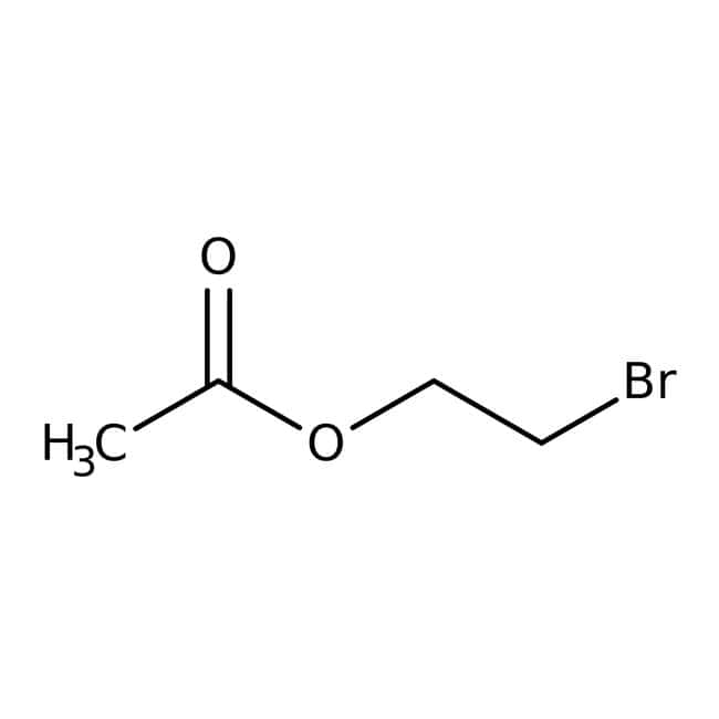 2-Bromoethyl acetate, 97%, Acros Organics 25g; Glass bottle 2-Bromoethyl acetate, 97%, Acros Organics