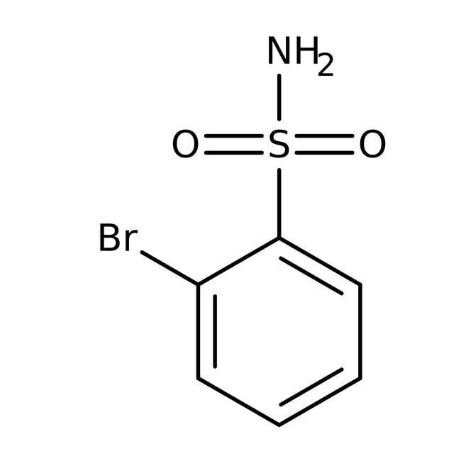 2-Bromobenzene-1-sulfonamide, 97%, Maybridge™ Amber Glass Bottle; 1g 2-Bromobenzene-1-sulfonamide, 97%, Maybridge™