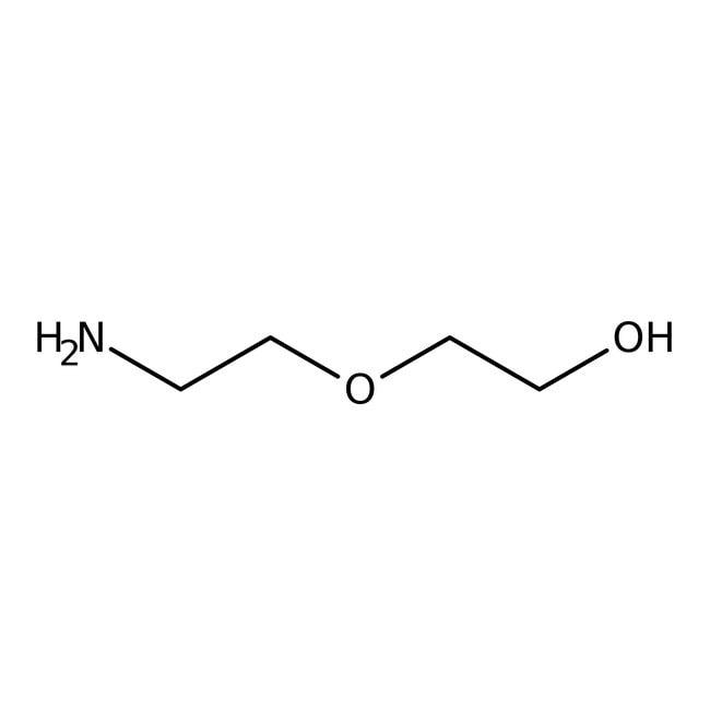 2-(2-Aminoethoxy)ethanol, 98%, ACROS Organics™ 2.5L; Glass bottle 2-(2-Aminoethoxy)ethanol, 98%, ACROS Organics™