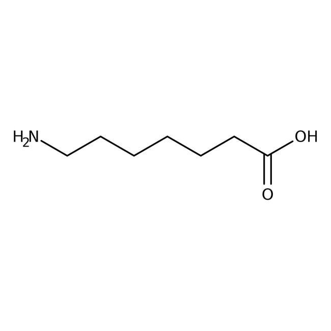 7-Aminoheptanoic acid, 97%, ACROS Organics™ 5g 7-Aminoheptanoic acid, 97%, ACROS Organics™