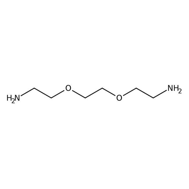 Alfa Aesar™2,2'-(Ethylenedioxy)bis(ethylamine), 97+% 10g Alfa Aesar™2,2'-(Ethylenedioxy)bis(ethylamine), 97+%