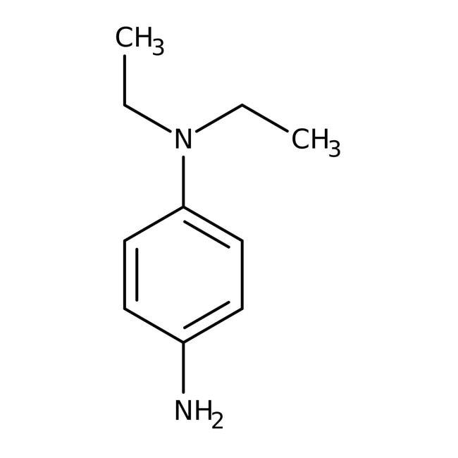 N,N-Diethyl-p-phenylenediamine, 98%, ACROS Organics™ 5g; Glass bottle N,N-Diethyl-p-phenylenediamine, 98%, ACROS Organics™