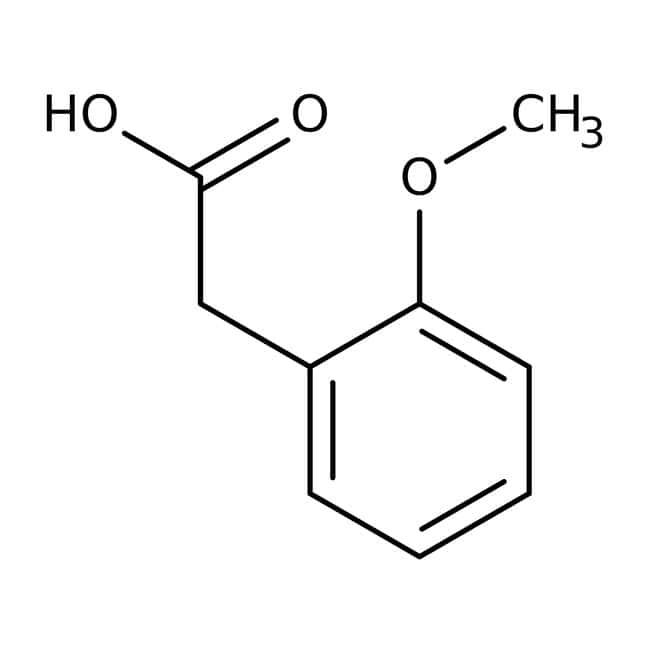 2-Methoxyphenylacetic acid, 99%, ACROS Organics