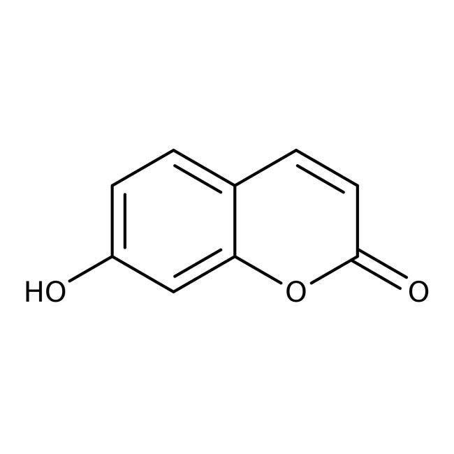 Alfa Aesar™7-Hydroxycoumarin, 98%: Hydroxycoumarins Coumarins and derivatives