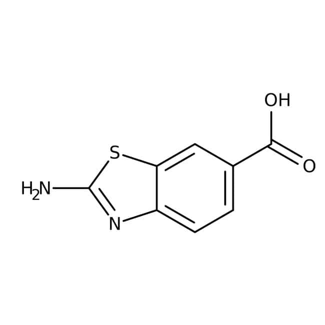 Alfa Aesar™2-Aminobenzothiazol-6-Carbonsäure, 95%: Amino acids and derivatives Amino acids, peptides, and analogues