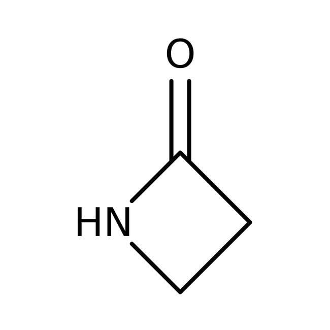 2-Azetidinone, 98%, ACROS Organics™ 5g; Glass bottle 2-Azetidinone, 98%, ACROS Organics™