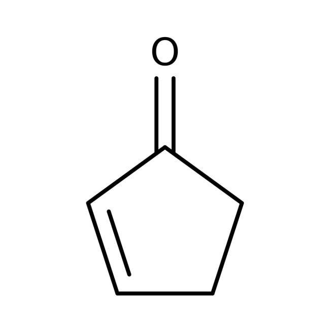 2-Cyclopentenon, 98%, Pure, ACROS Organics™ 25 g-Glasflasche 2-Cyclopentenon, 98%, Pure, ACROS Organics™