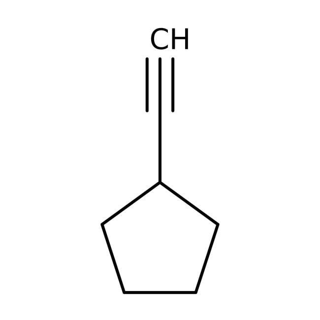 Cyclopentylacetylene, 95%, ACROS Organics