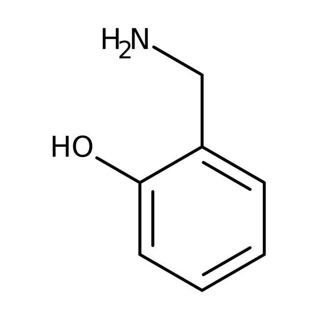 2-Hydroxybenzylamine, 98%, ACROS Organics™ 1g; Glass bottle 2-Hydroxybenzylamine, 98%, ACROS Organics™