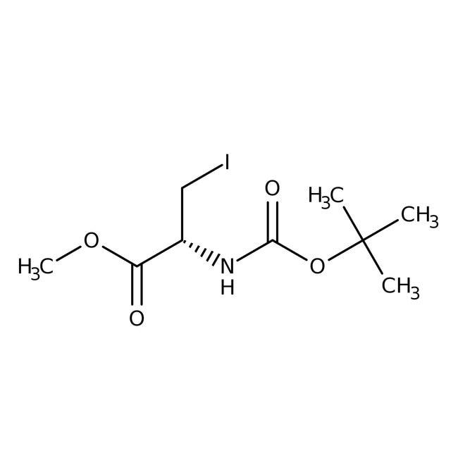 Alfa Aesar™N-Boc-3-iodo-L-alanine methyl ester, 98%