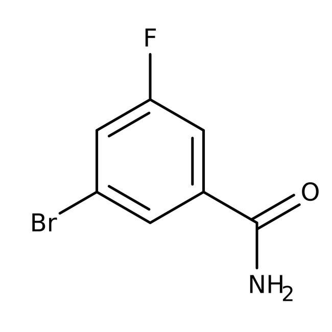 Alfa Aesar™3-Bromo-5-fluorobenzamide, 96% 1g Alfa Aesar™3-Bromo-5-fluorobenzamide, 96%